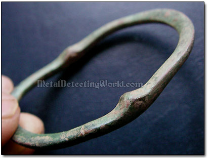 Bronze Hat Buckle