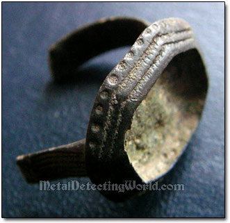 Bronze Signet Ring