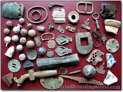 Relics Found with Minelab Metal Detector