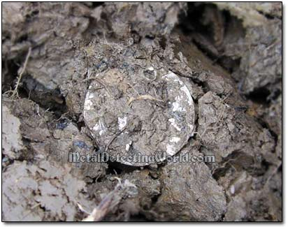 Recovering a Silver Hammered Coin
