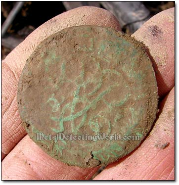 A russian Coin in Bad Condition