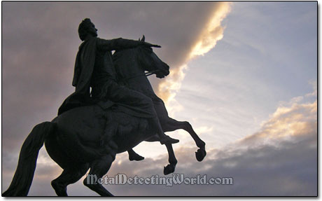 The Bronze Horseman Monument - Statue of Peter I in Saint Petersburg, Russia
