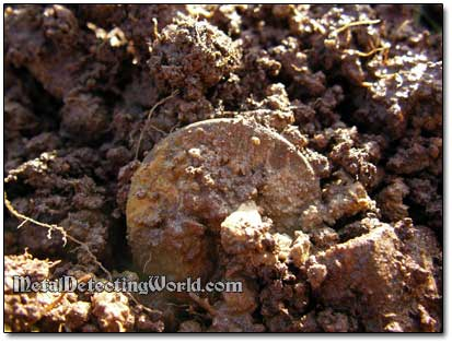 Old Copper Coin Found
