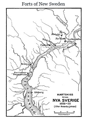 Map Of Pennsylvania Colony. New Sweden Colony Map