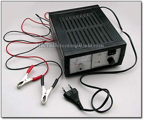 Auto Battery Charge on Car Battery Charger