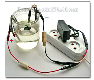Home Electrolysis Device for Cleaning Coins & Jewelry