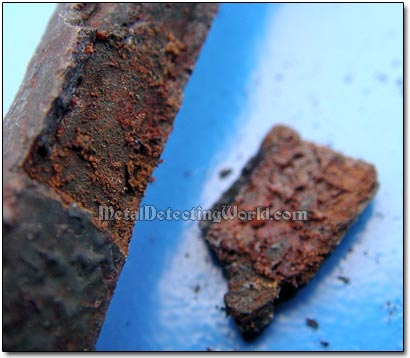 Rust Was Revealed After the Converted Rust Layer Had Been Removed