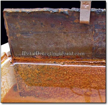 Transferred Rust Accumulated on Anode