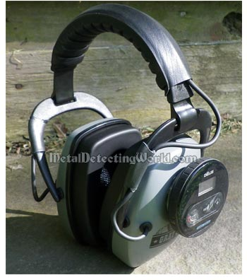 Grey Ghost Headphones with Deus Headphone Module Attached