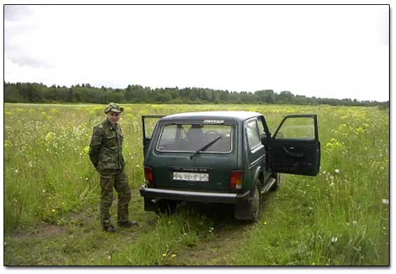 Slava And His Russian Jeep
