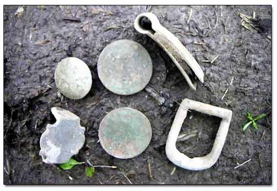 Finds Dug At Roadside