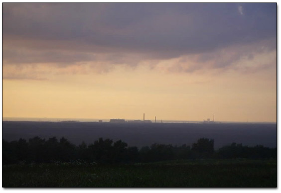 Nuclear Power Plant On The Horizon