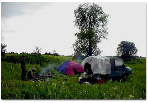 Our Camp In the Field