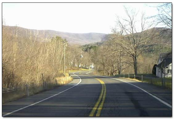 Taconic Mountains Range