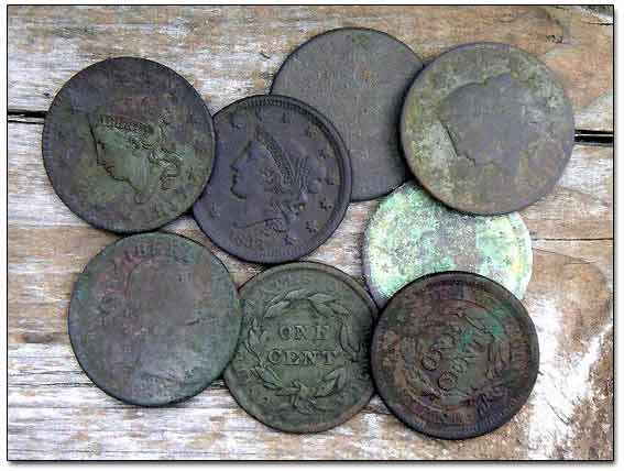All Large Cents From the Site That Day