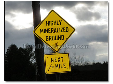 Highly Mineralized Ground