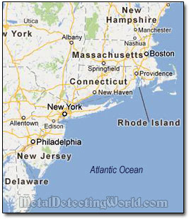 Map Of North East Coast Usa MAP - Northern east coast us map