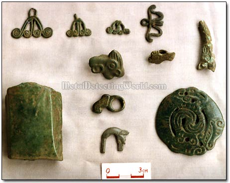 Bronze Celt and Zoomorphic Pendants