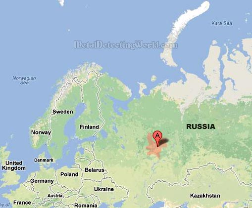 Andrei Metal Detects in Kirov Region, Russia