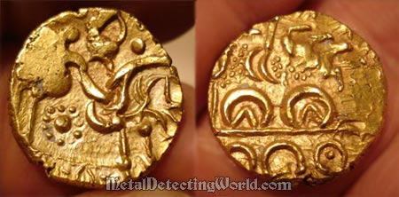 Gold Stater of Corieltauvi North East Coast Type