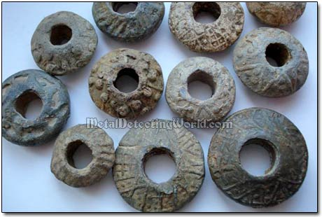 Lead Spindle-whorls & Loom Weights