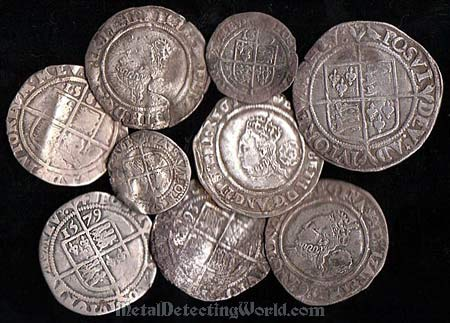 Silver Hammered Coins&lt, reign of Queen Elizabeth I
