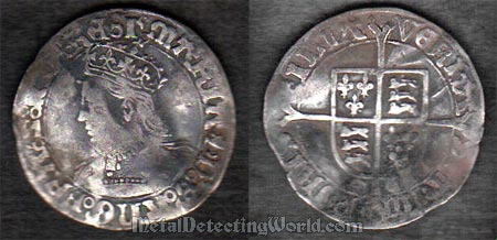 Silver Groat of Mary - Veritas Temporis Filia