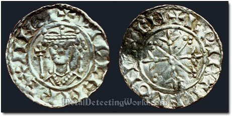 Silver Penny, Two Sceptres Type, William I (Conqueror), Oxford mint Brihtraed