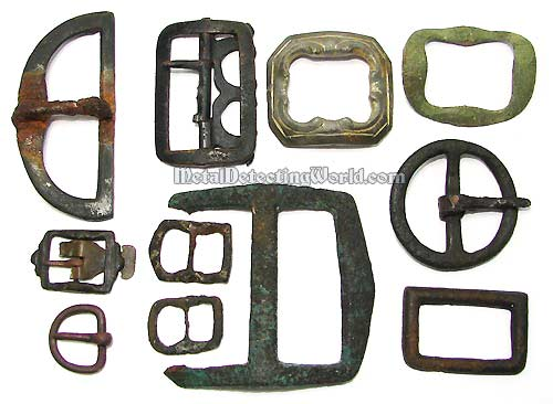 Military Belt and Musket's Sling Buckles