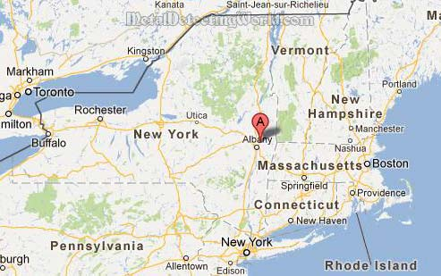 Tim Metal Detects in Capital Region of New York State, USA