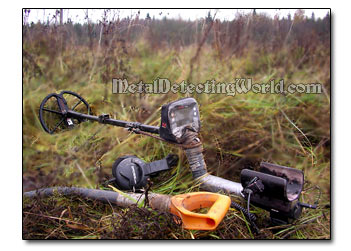Minelab E-Trac Field-Test