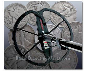 Minelab E-Trac Search Program for Detecting Coins