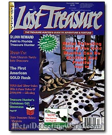Lost Treasure Magazine Cover