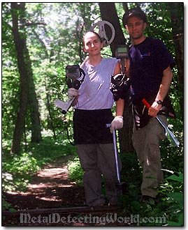 Shelly & Sergei at Picnic Grove Site in 2001