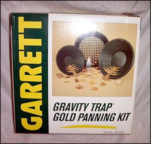 Gravity Trap Gold Pan Kit