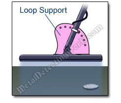 Search Coil Loop Support