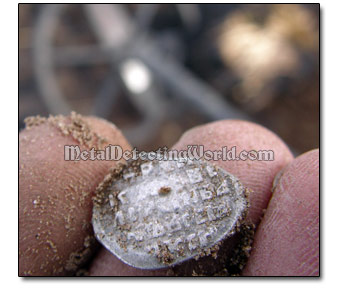 Metal Detecting Silver Hammered Coins