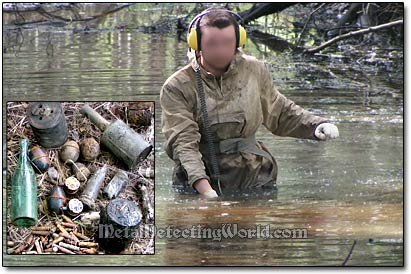 Detecting WW2 Relics on Riverbed