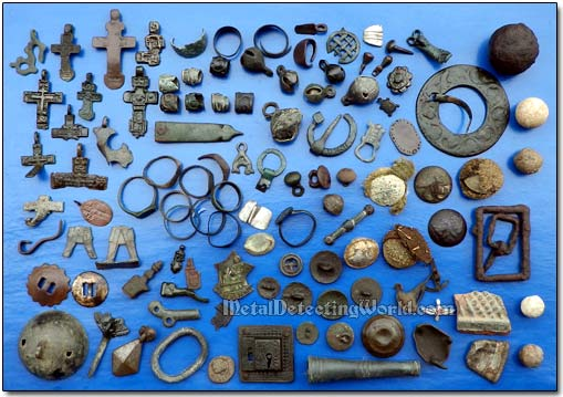 Various Relic Finds
