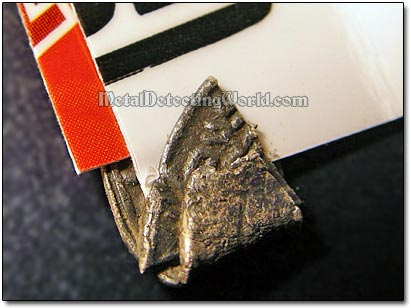 Straighten Crumpled Silver Hammered Coin - Step 2