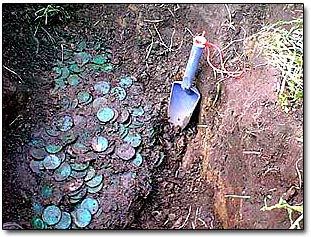 Coin Cache Discovered
