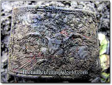 1836 New York Militia Belt Buckle