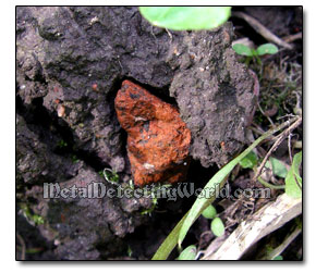 Brick Fragment Found at Hunt Site