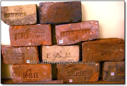 Collectible Bricks, circa 18th-19th Century, at Museum Exhibition