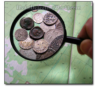 Map Research for Metal Detecting