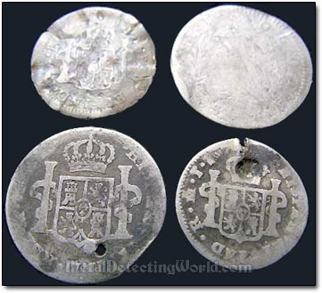 Spanish Silver Reales