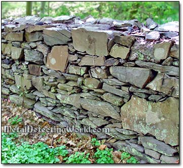 Stone Fence in Dutchess County, New York