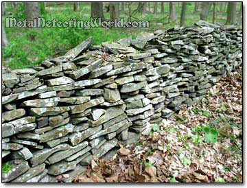 Stone Wall in the Catskills