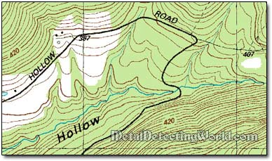 Us 7 5 Minute Topographic Map 1964