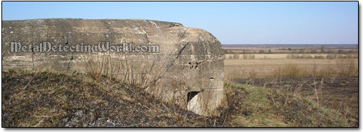 WW2 Concrete Pillbox